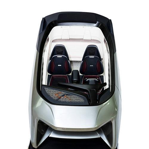 Plastic CNC mini car model for prototype