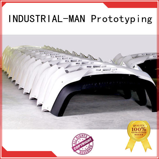 aluminum rapid prototyping and tooling for INDUSTRIAL-MAN company