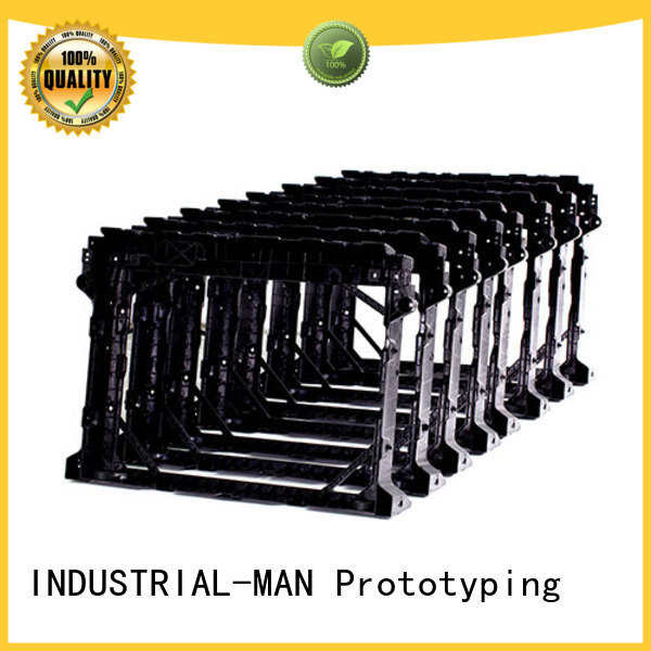 plastic machining material INDUSTRIAL-MAN Brand mini cnc