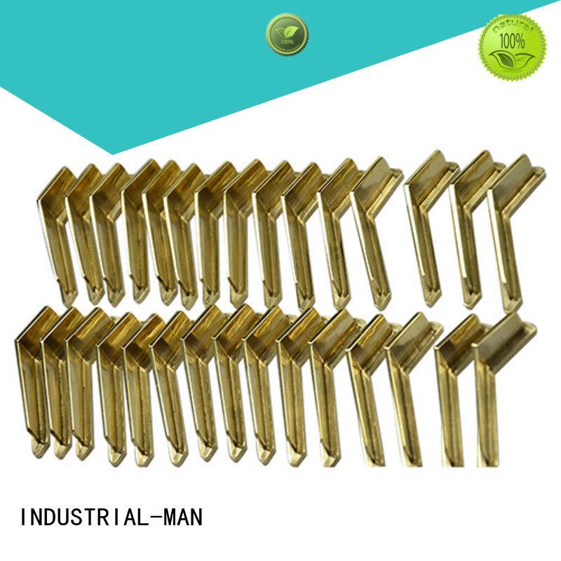 Hot aluminum aluminium cnc service material INDUSTRIAL-MAN Brand