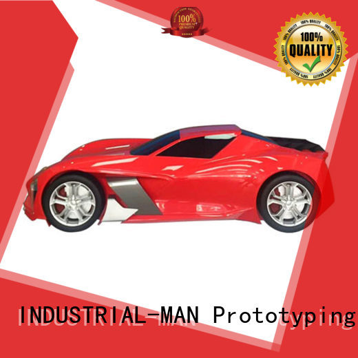 INDUSTRIAL-MAN Brand exhibition by clay car moulding
