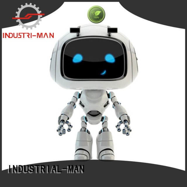 robot plastic machining cnc INDUSTRIAL-MAN company