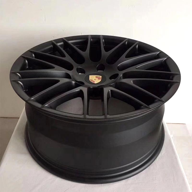 CNC  prototype on aluminum car wheel