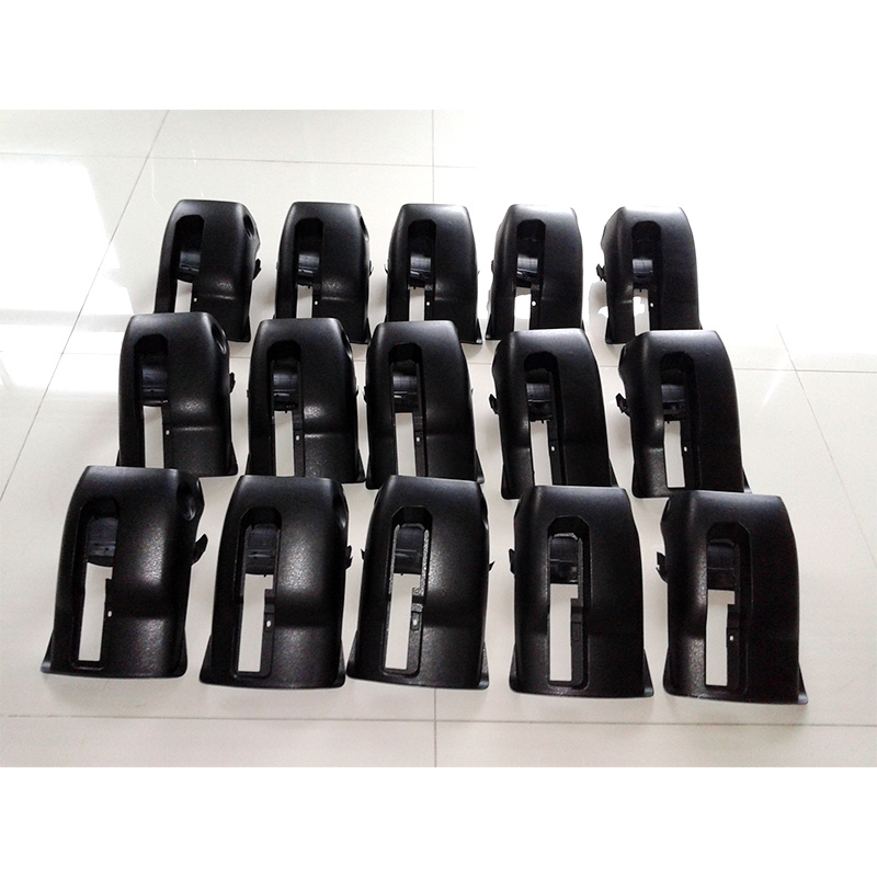 Plastic car parts with injection molding