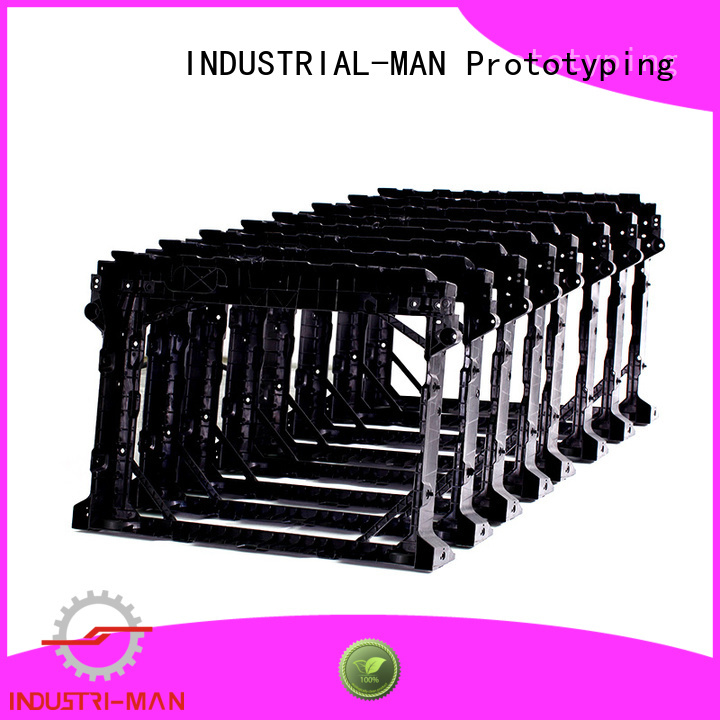 INDUSTRIAL-MAN Brand clear parts on door cnc 3d