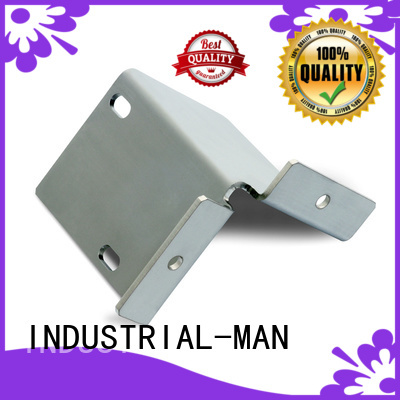 INDUSTRIAL-MAN Brand car brass cnc aluminum bending factory