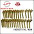 INDUSTRIAL-MAN Brand steel custom cnc parts aluminum supplier