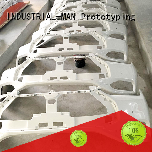 INDUSTRIAL-MAN Brand parts rubber on vacuum casting manufacture