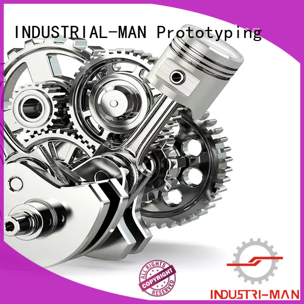 exhibition sla 3d printing technology material INDUSTRIAL-MAN Brand company
