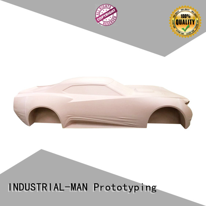 INDUSTRIAL-MAN Brand lights made cnc motorcycle parts exhibition supplier