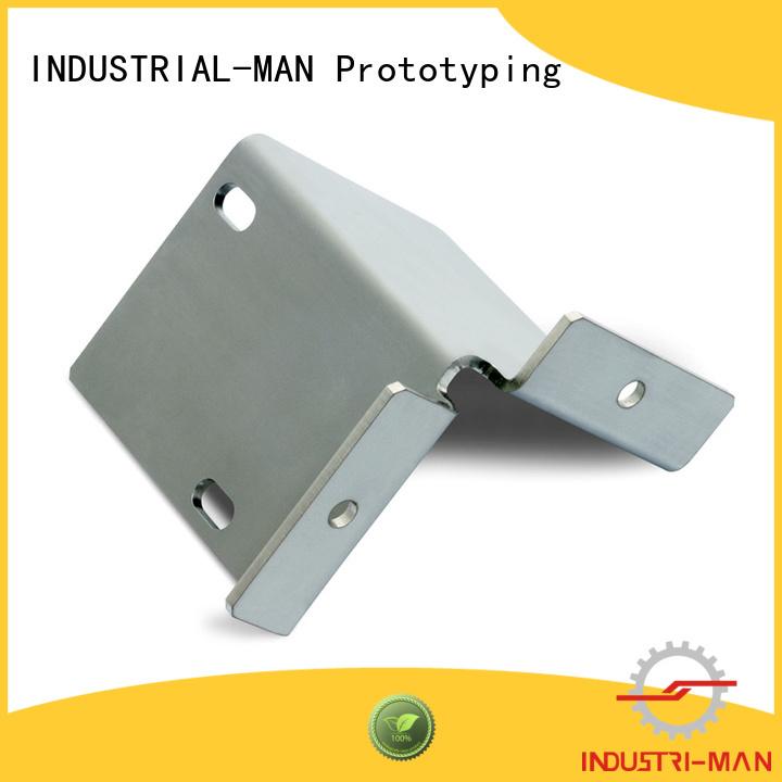 INDUSTRIAL-MAN Brand stainless car aluminum cnc aluminum manufacture