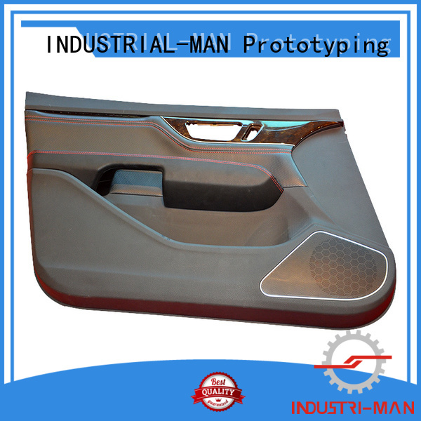 INDUSTRIAL-MAN Brand material exhibition door cnc 3d manufacture