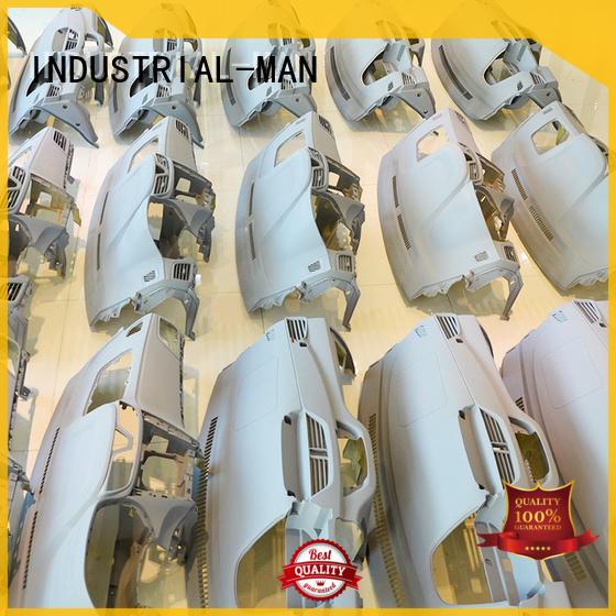 silicone parts vacuum casting metal prototype material INDUSTRIAL-MAN Brand